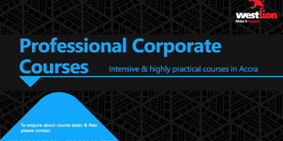 Professional Corporate Courses 2017