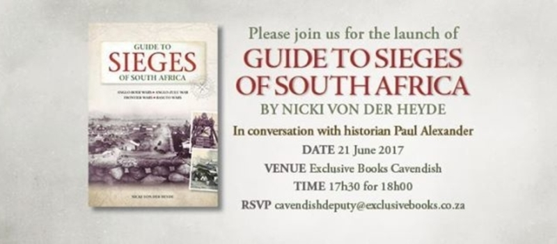 Book Launch: Guide to Sieges of South Africa (Cape Town)
