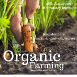 Organic Farming: Vegetables and Poultry