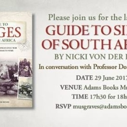 KZN Book Launch: Guide to Sieges of South Africa