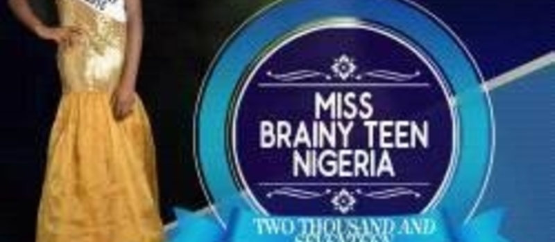 MISS BRAINY TEEN NIGERIA/MUSICAL CONCEPT