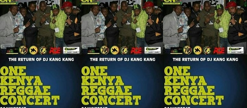 ONE KENYA REGGAE CONCERT (THE RETURN OF DJ KANG KANG )