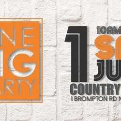 Saturday 1 July ONE BIG PARTY