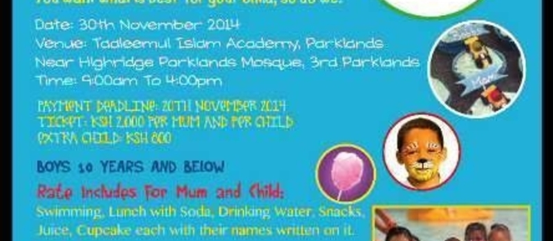 FUN POOL PARTY FOR KIDS AND MUMS