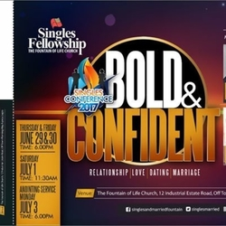 Singles Conference 2017, Bold and Confident #thetrailblazers