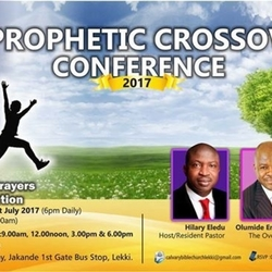 PROPHETIC CROSSOVER CONFERENCE