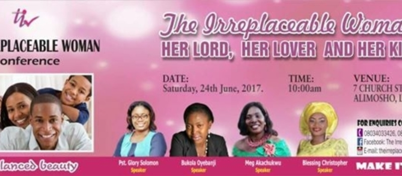 The Irreplaceable Woman Conference
