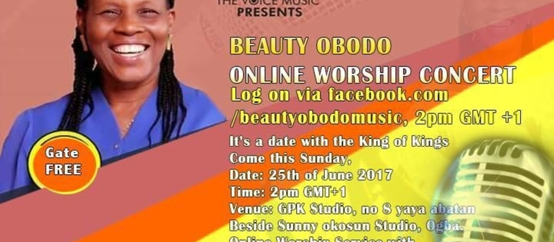 Online Worship Concert with Beauty Obodo