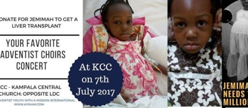 Music Concert to Save Jemimah from Cancer