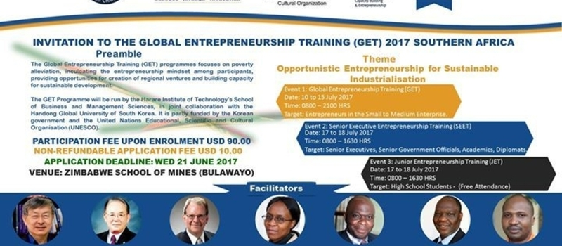Global Entrepreneurship Training 2017 Southern Africa