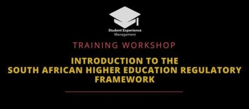 Intro to the South African Higher Education Regulatory Framework