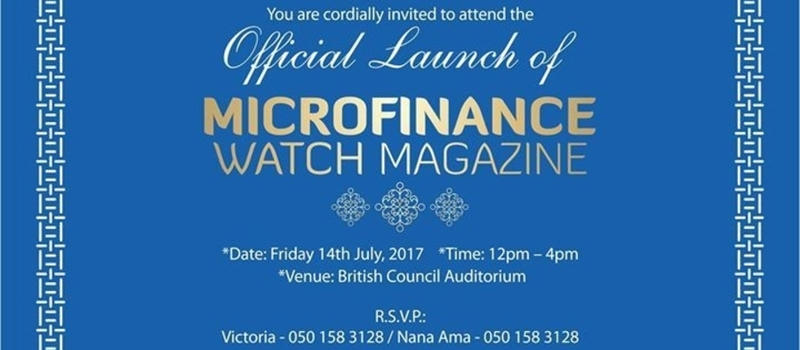 Microfinance WATCH Magazine Launch