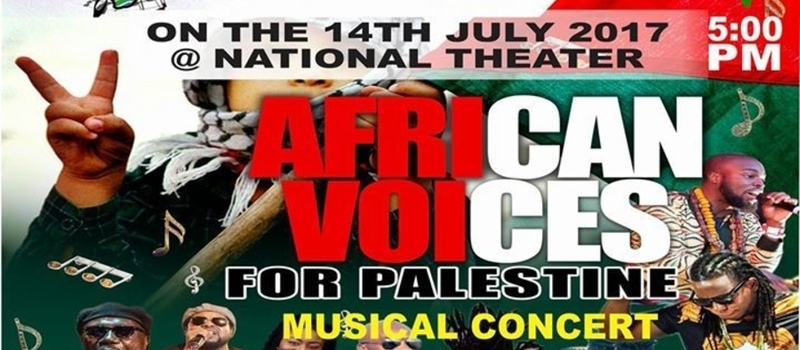 African Voices for Palestine Musical Concert