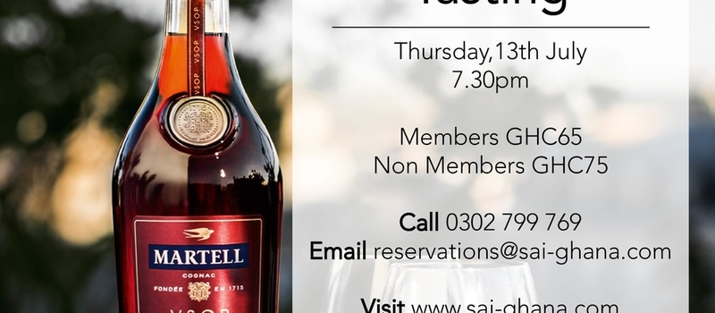 Martell Cognac Tasting Evening