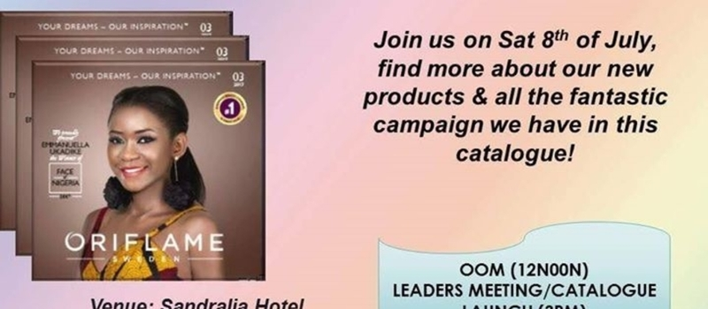 Oriflame Catalogue Launch and Seminar