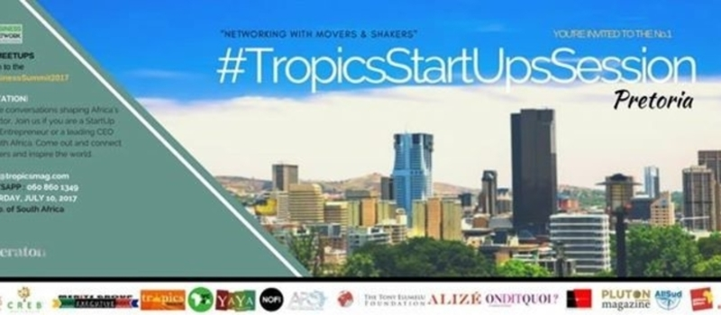 Tropics StartUp Session - South Africa (No.1)