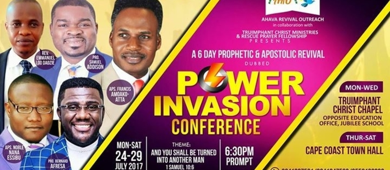 POWER INVASION CONFERENCE