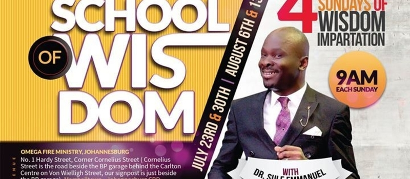 School of Wisdom with Dr. Sule Emmanuel