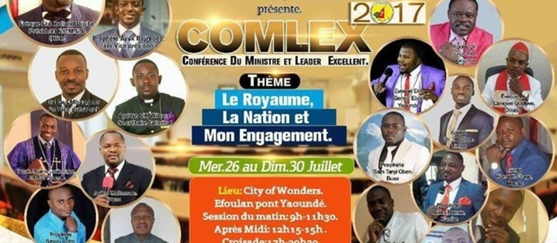 The Excellent Ministers Conference @ Yaoundé Efoulang/City Of Wonders