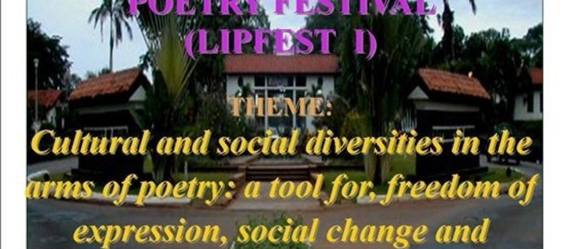 WALK THE TALK - THE LEGON INTERNATIONAL POETRY FESTIVAL