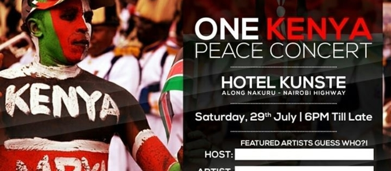 One Kenya Peace Concert
