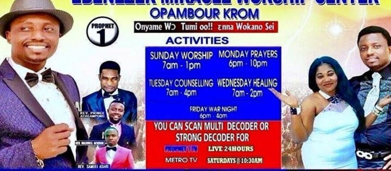 From 30th JULY-2nd AUGEST THE PROPHET 1 OPAMBOUR EBENEZER IS GIVING MONEY