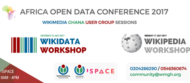 Africa Open Data Conference Wikimedia Ghana User Group Sessions