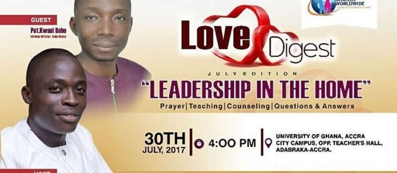LOVE DIGEST, Singles & Young Couple's Relationship Seminar