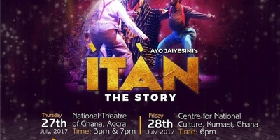 STAGE PLAY OF ITAN (THE STORY) ACCRA