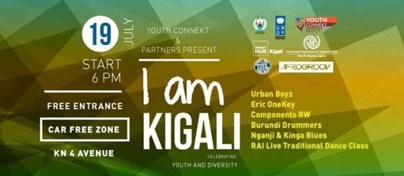 I am Kigali at YouthConnekt Africa Summit