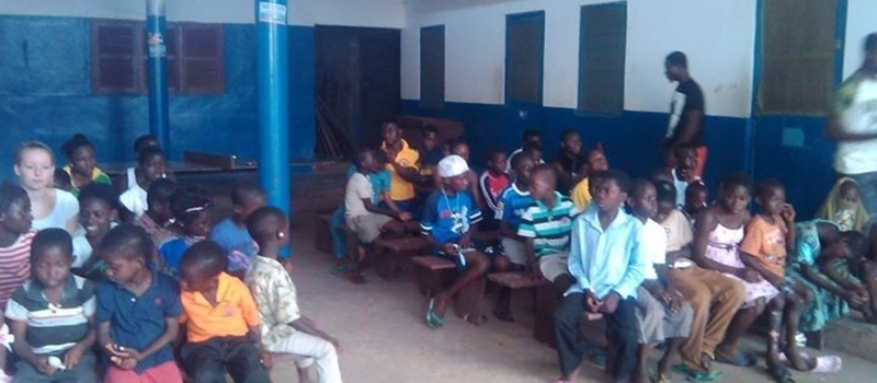 Support 570 Vulnerable children send to school in Kasoa Ofankor
