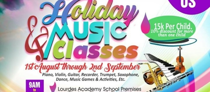 Holiday MUSIC Classes