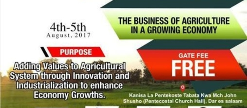 INTERNATIONAL SUMMIT FOR AGRICULTURE