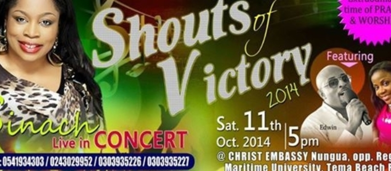 SHOUT OF VICTORY 2014