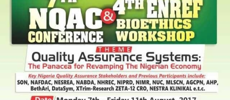 7th Nigeria QA Conference & 4th Bioethics Workshop