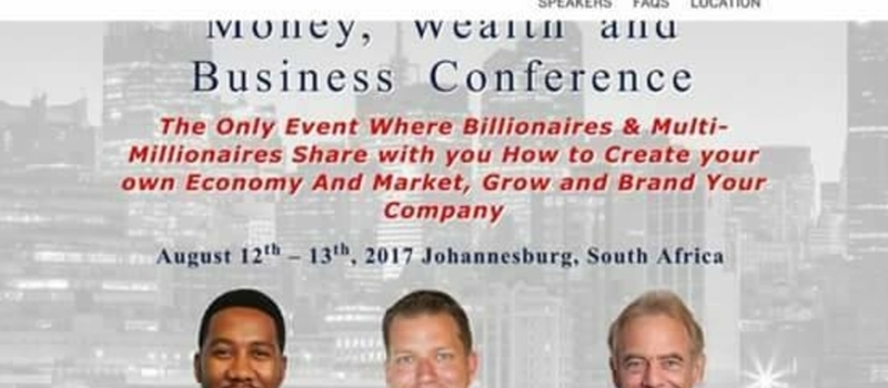 TRAINING AND BUSINESS CONFERENCE IN SOUTH AFRICA..
