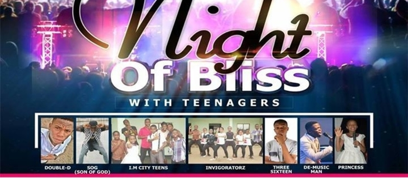Night of Bliss with teenagers