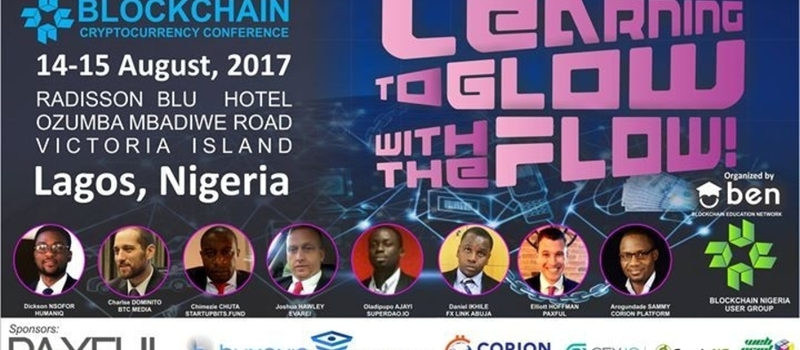 Blockchain & Cryptocurrency Conference Lagos Nigeria 2017