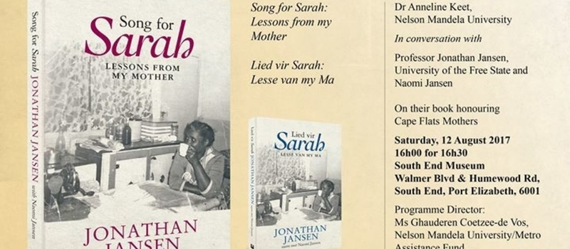 Song for Sarah Launch in Port Elizabeth