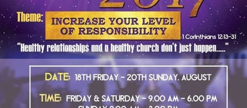 22nd Apostolic Fellowship Church Annual Conference