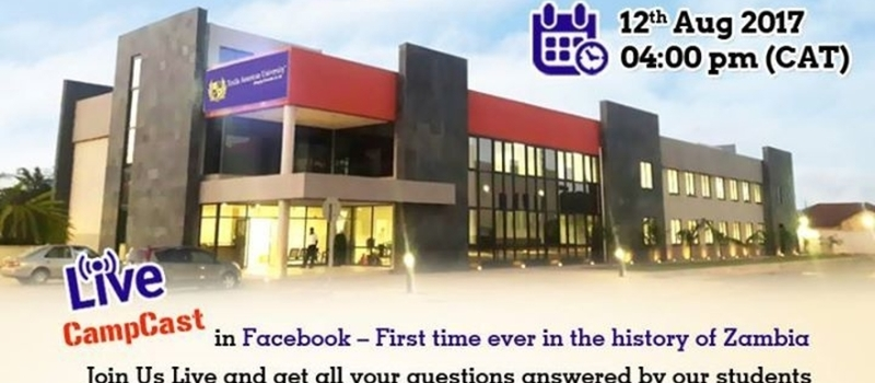 Texila American University, Zambia Campus Tour on Facebook Live