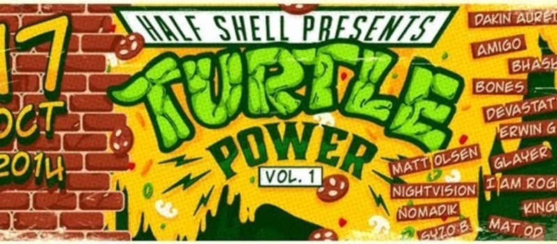 Half Shell presents. TURTLE POWER vol. 1 BILLIONAIRES CLUB