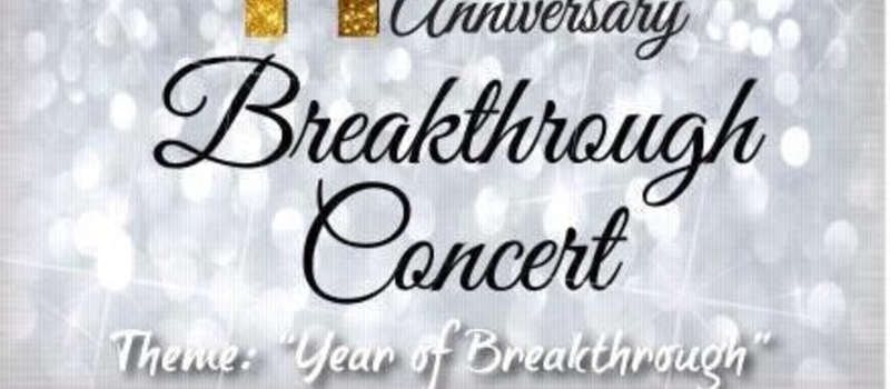 NGC 11th Anniversary concert ..year of breakthrough.
