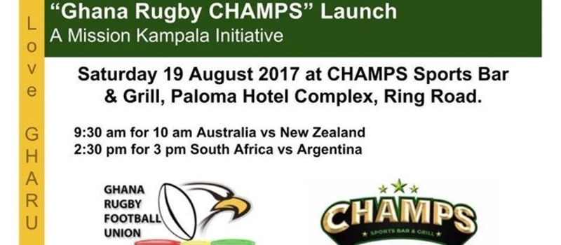 """Ghana Rugby CHAMPS"" Launch & Fun"