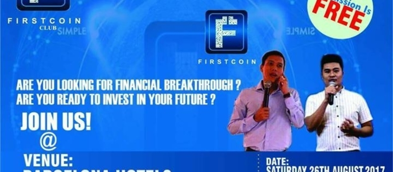 FirstCoin summit. Abuja, Nigeria 2017