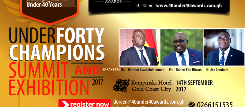 Under 40 Champions Summit and Exhibition 2017
