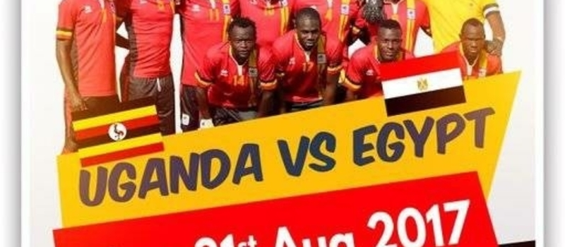 Uganda Vs Egypt - WC Qualifiers