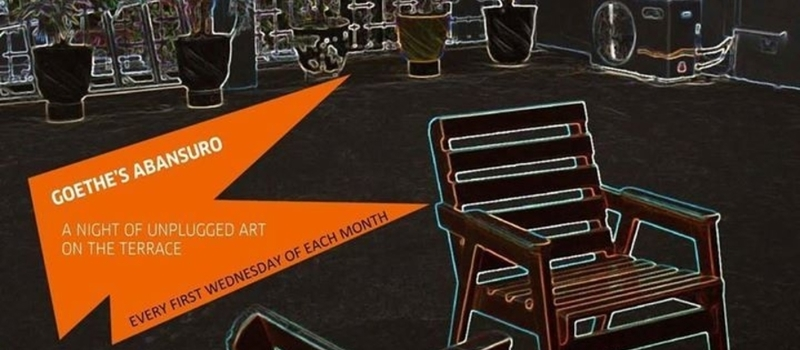 Goethe's Abansuro - A Night of Unplugged Art on the Terrace