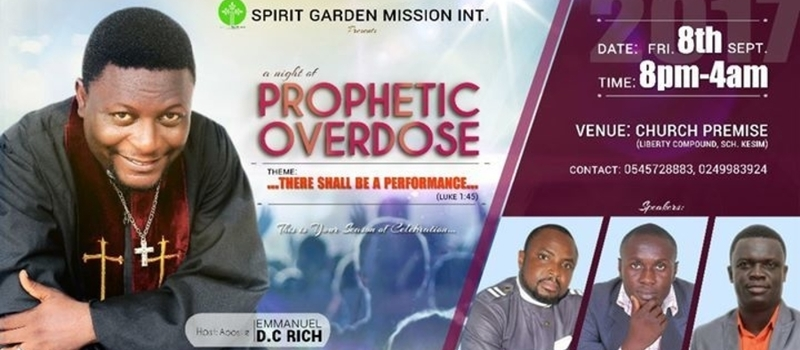 NIGHT OF GLORY(A Night Of Prophetic Overdose)