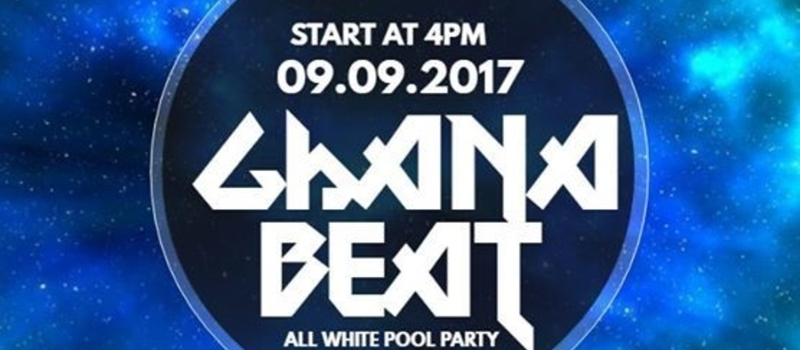 Ghana Beat All White Pool Party